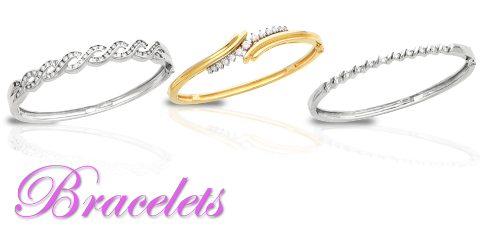 Diamond Bracelets in Gold & Platinum