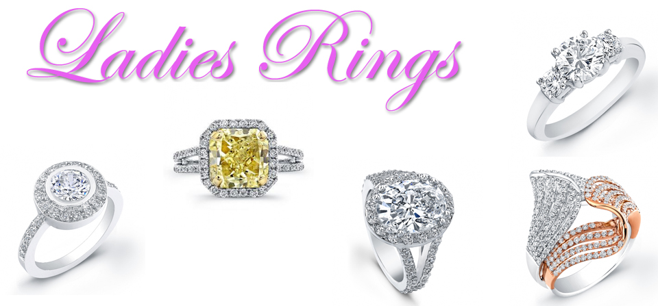 Ladies Diamond Rings, Diamond Engagement Rings