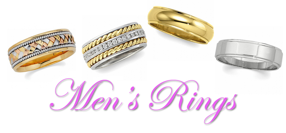 Men's Diamond Rings & Diamond Wedding Bands