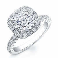 Beautiful Diamond Ring in White Gold