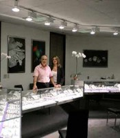 Owners of General Diamonds in the Jewelry District of Los Angeles, Jewelry Mart