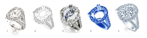 Custom Jewelry Design Diamonds Design Your Own Ring Diamond Rings